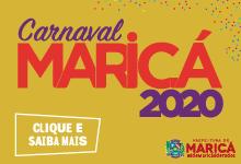 Anúncio Carnaval Maricá - Fevereiro/2020