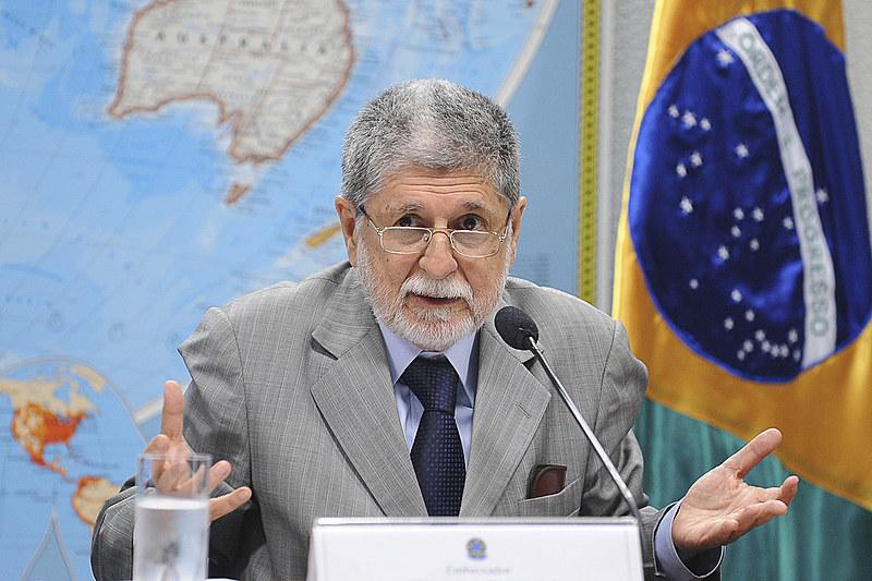 """Na opinião do ex-chanceler brasileiro, Bolsonaro """"herdou"""" a questão do acordo entre sul-americanos e europeus do governo Michel Temer."""