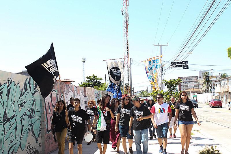"""A semana """"Nós por Nós"""" é organizada pelo Levante Popular da Juventude desde 2015"""