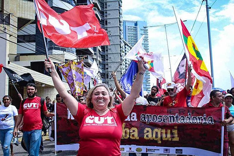 Eliane Bandeira, sindicalista e presidenta da CUT-RN