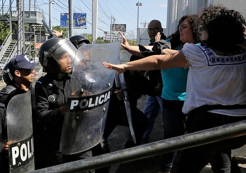 Protestos violentos se espalharam pelo país em abril de 2018