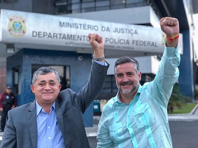 """""""Encontramos um homem bem de saúde, animado, esperançoso na Justiça e convicto de que, em breve, estará de volta às ruas"""""""
