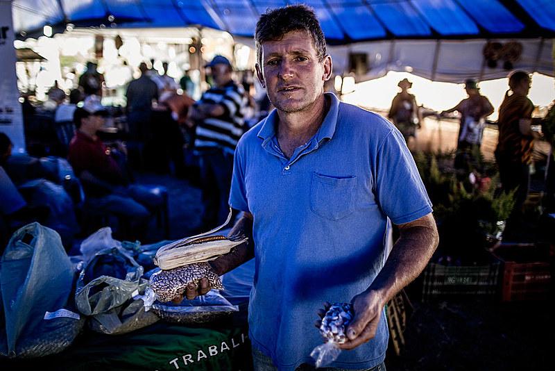 """""""Uma semente crioula geralmente ela evolui junto com os povos que cultivavam ela pra produzir seu próprio alimento"""", diz Nicão"""