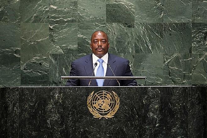 Presidente da RD Congo, Joseph Kabila