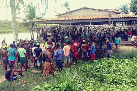O ataque ocorreu no Povoado das Bahias, área de etnia Gamela