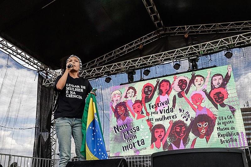 Festival pela Vida das Mulheres teve início nesta sexta (3), com ato público, oficinas, entre outras atividades