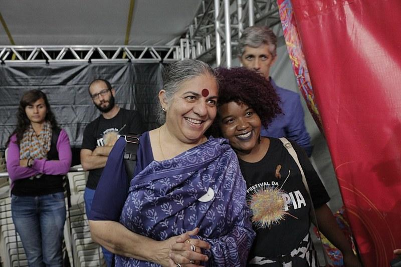 Ativista Vandana Shiva, escritor paquistanês Tariq Ali e o ator estadunidense Danny Glover foram algumas das atrações do evento