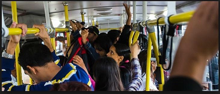 Contra o assédio nos transportes coletivos