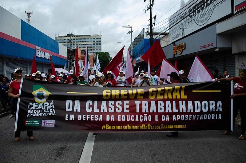 """A mobilização faz parte do """"Dia Nacional em Defesa da Aposentadoria"""""""