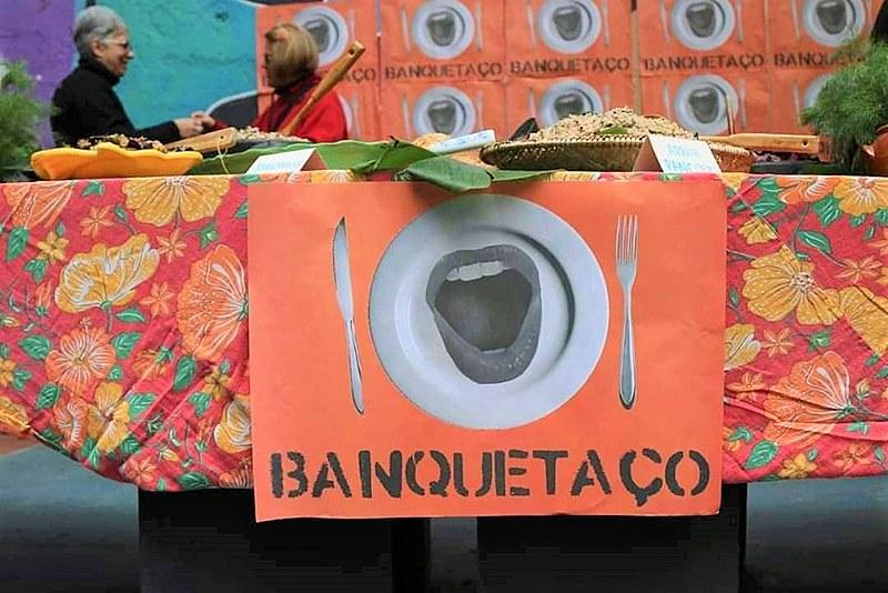 O Festival Comida de Verdade aconteceu no último domingo (4), na Ocupação 9 de Julho, em São Paulo (SP)