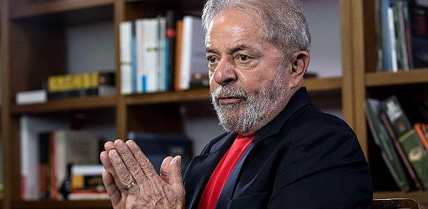 Lula está preso desde 7 de abril de 2018