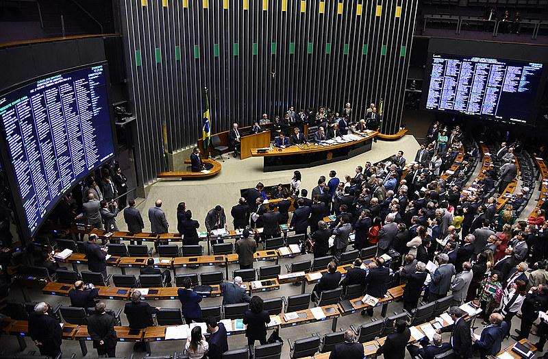 O Brasil conta atualmente com 35 partidos registrados no TSE; na Câmara Federal, 26 deles têm representação