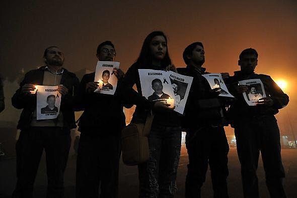 Manifestações se dão após osassassinatos de dois jornalistas em menos de 24 horasno país