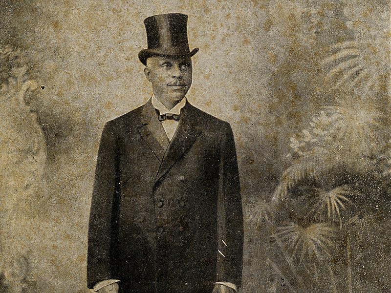 George Edwin Taylor, primeiro candidato negro à presidência dos Estados Unidos