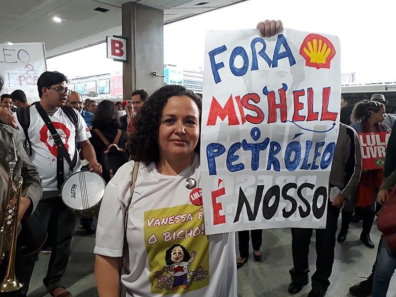 Nesta quarta-feira (30), as frentes Brasil Popular e Povo Sem Medo convocaram atos nacionais em apoio à mobilização do petroleiros