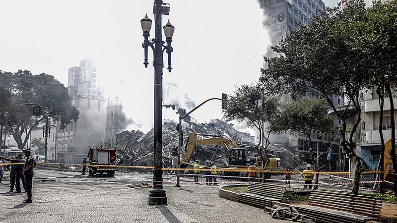 Bombeiros trabalharam por 11 dias nas buscas após incêndio, que deixou sete vítimas fatais