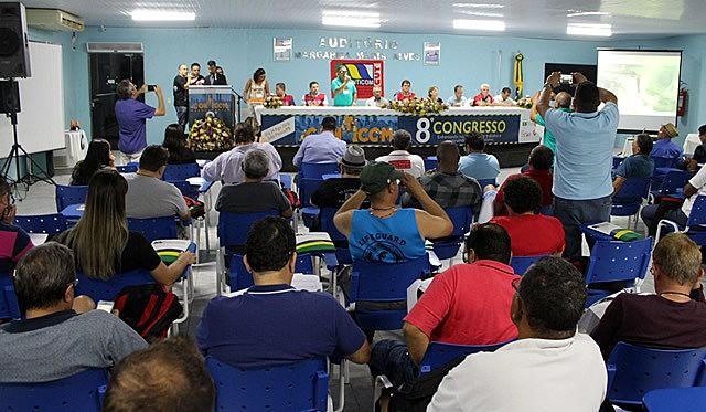 Uma centena de operários de todo o Brasil participam desde terça, 21, do Congresso que encerra quinta, 24.