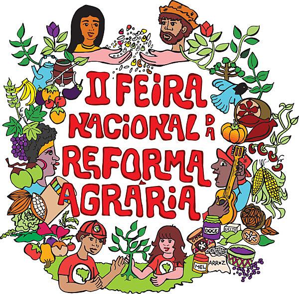 II Feira Nacional da Reforma Agrária oferecerá mais de 250 toneladas de alimentos