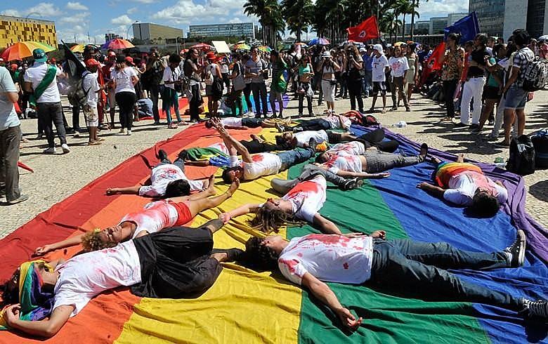 Brasil é o país que mais mata LGBTs no mundo. No ano passado, o número de assassinatos aumentou 30% em relação a 2016