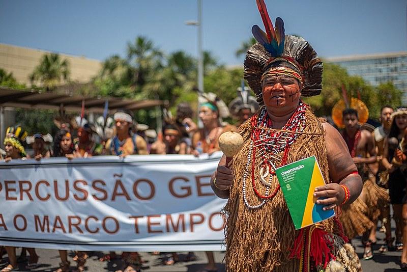 Grupos indígenas chegam a Brasília com extensa pauta para apresentar ao STF e aos ministérios