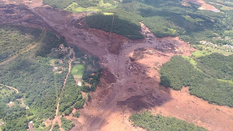 A dam collapsed in Minas Gerais, the same state where the worst man-made environmental disaster in Brazil's history happened three years ago