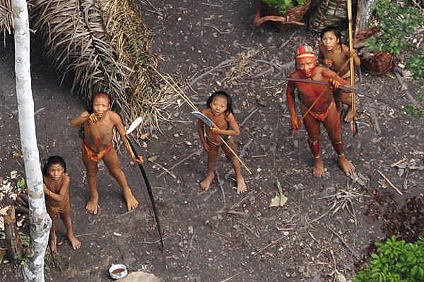 Povos da região do vale do Javari, que recebeu denúncias recentes da Funai, de ter sido alvo de massacre promovido por garimpeiros