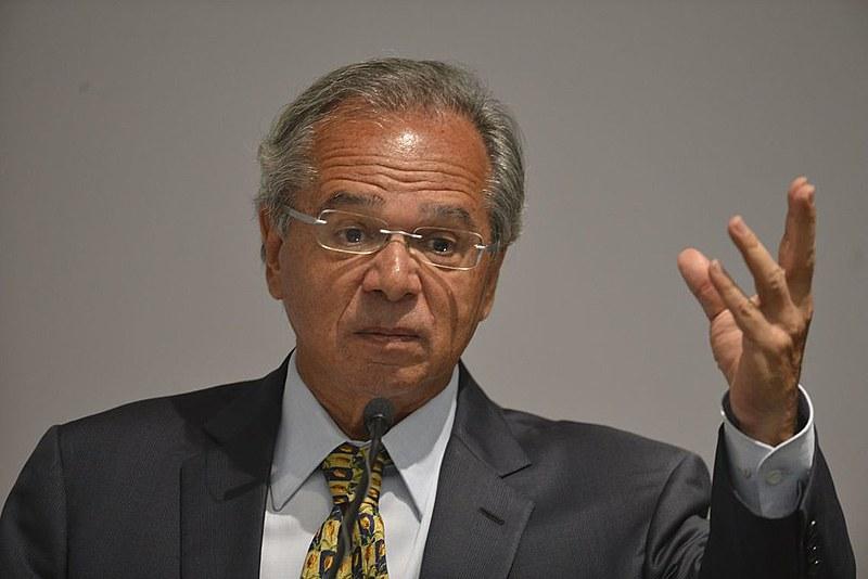 O ministro da Economia, Paulo Guedes, foi mais um do grupo de Bolsonaro que evocou traços autoritários do período da ditadura militar