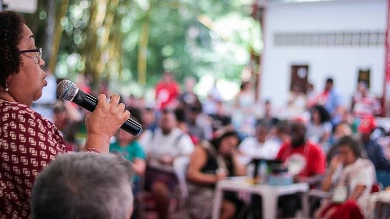 Plenária da 3ª Conferência Nacional da Frente Brasil Popular acontece na Escola Nacional Florestan Fernandes