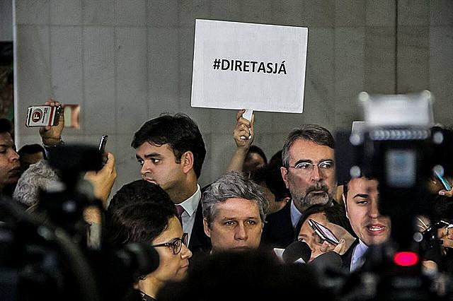 """Manifestaciones por """"Directas ya"""" aumentan en Brasil"""