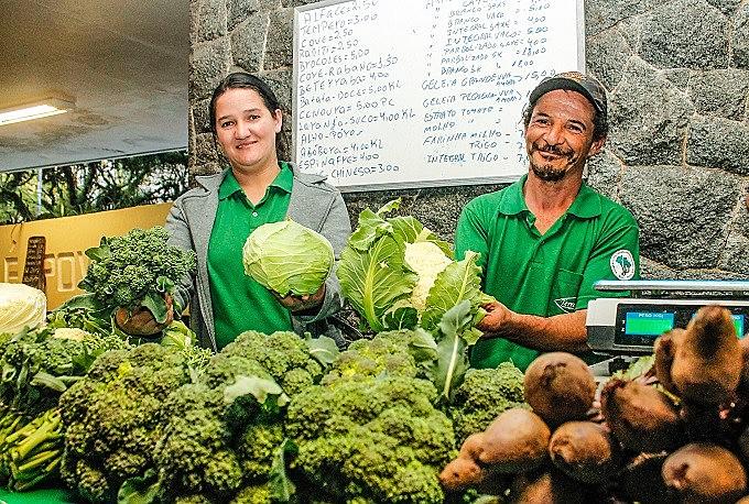Comprar direto do produtor é umas das vantagens das Feiras Ecológicas