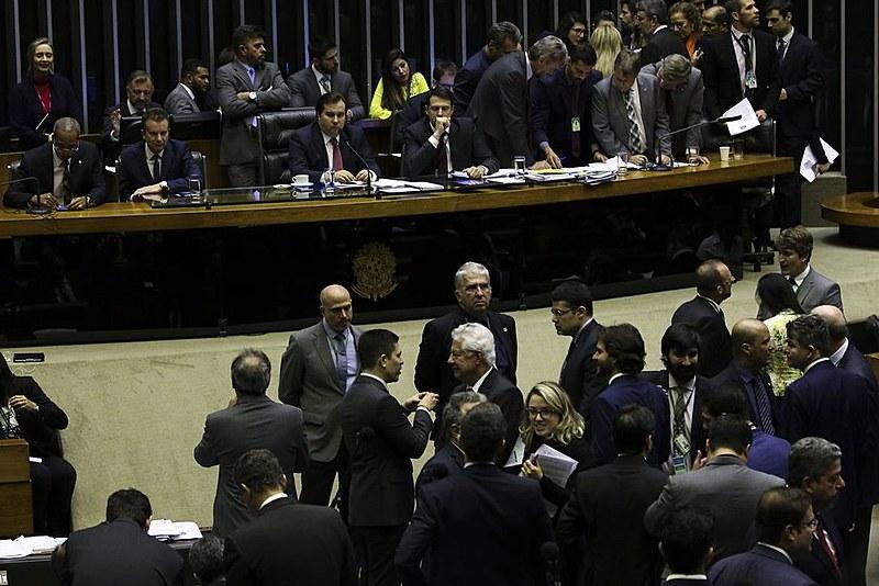 Votação da Reforma da Previdência é concluída com 379 votos contrários e 131 favoráveis