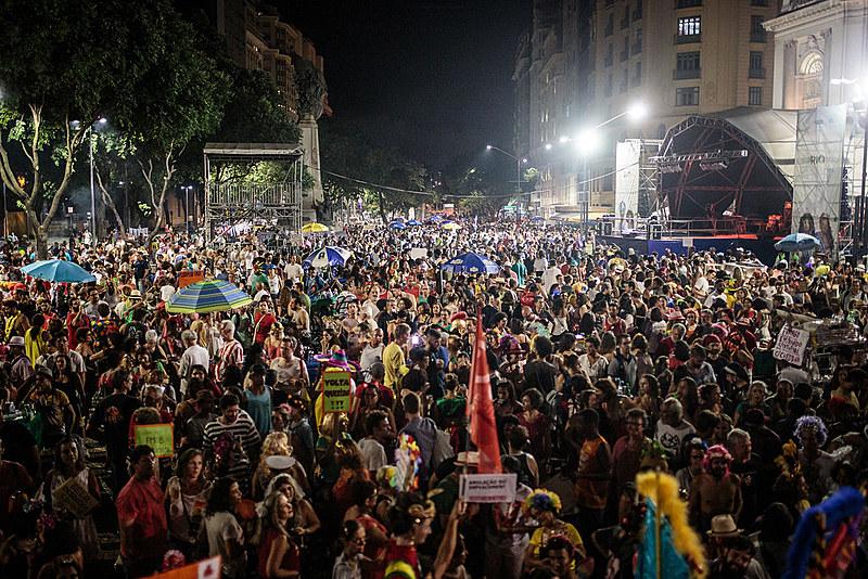 Bloco popular Fora Temer, Rio de Janeiro