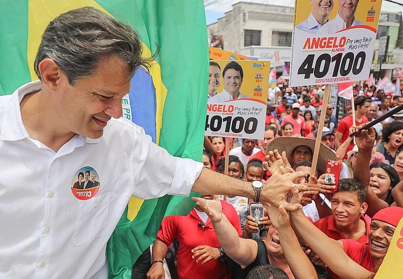 Fernando Haddad é professor universitário e foi ministro da educação no governo Lula