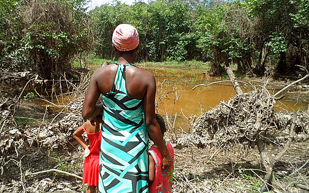 Território Quilombola de Iúna, na Chapada Diamantina,  na Bahia, onde seis pessoas foram assassinadas em 2017