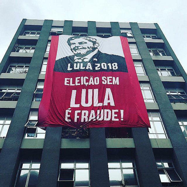 Movimientos populares afirman que elecciones presidenciales sin la candidatura del ex presidente Lula serían un fraude