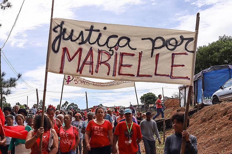 No último dia 14, atos em todo o país pediram justiça para Marielle Franco