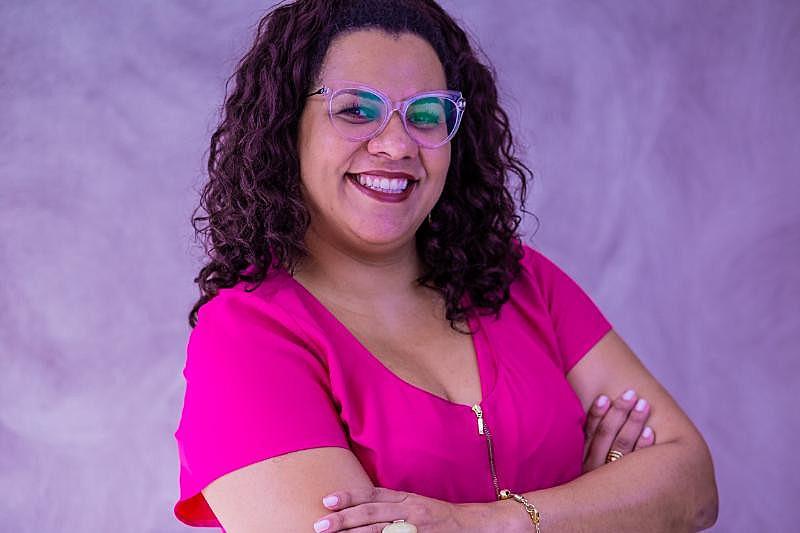 Patricia Santos, fundadora da EmpregueAfro, consultoria de recursos humanos focada na diversidade étnico-racial