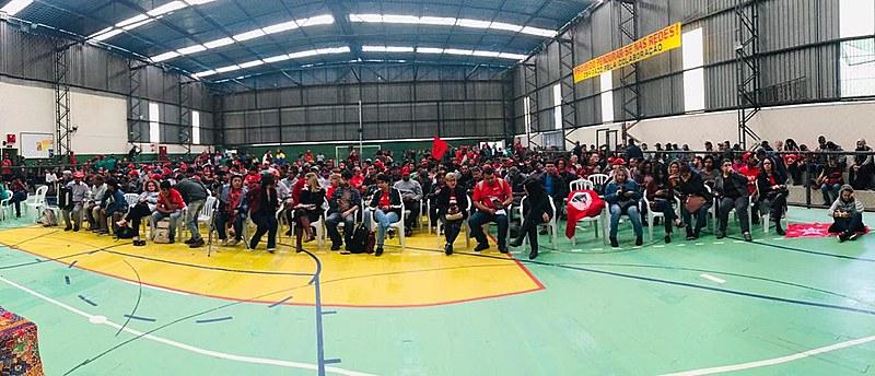 Plenária de organização dos Comitês Lula Livre no Paraná