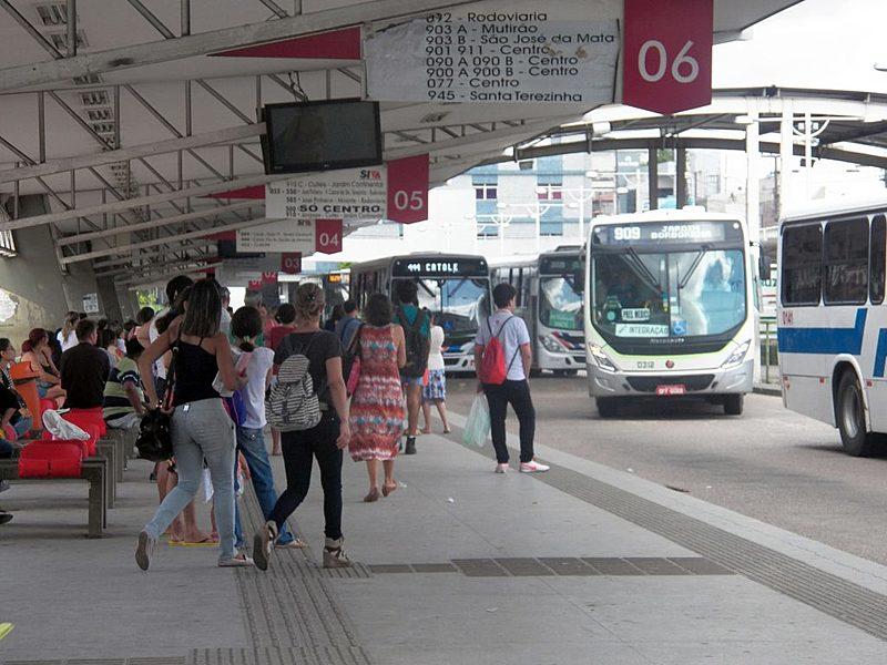 Terminal de Integração de Campina Grande, na Paraíba