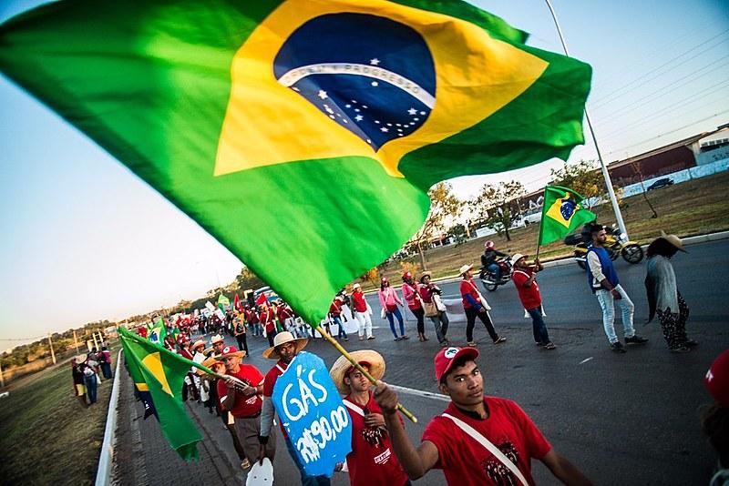 Na quarta (15), os marchantes participam do registro da candidatura do ex-presidente Lula