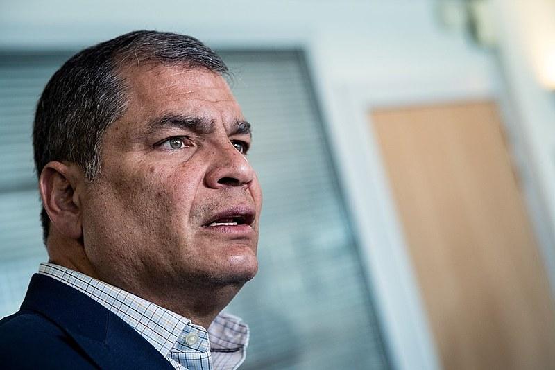 """Em entrevista à emissora RT, Correa qualificou o pedido de prisão como uma """"farsa"""""""