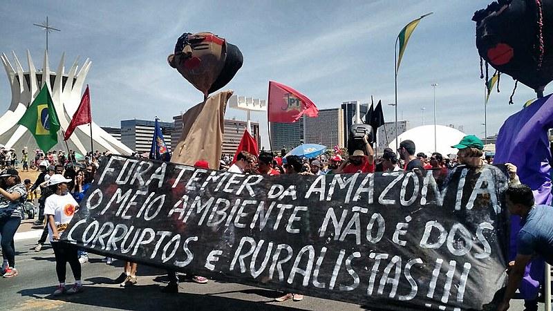 Atos em diversas cidades brasileiras movimentam o dia de lutas do Grito dos Excluídos, no feriado da Independência