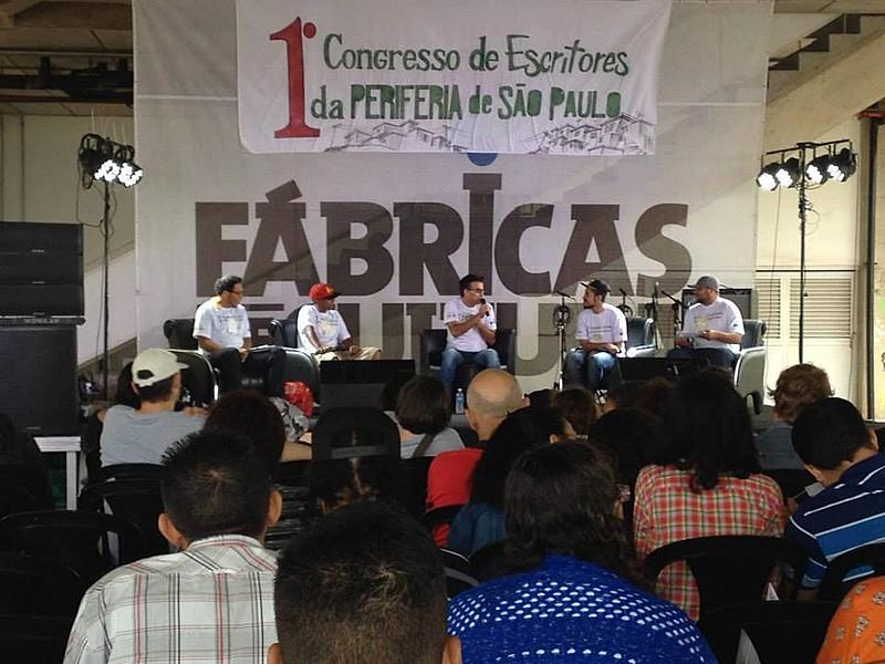 """1º Congresso Escritores da Periferia de São Paulo que teve como tema """"Incentivos à Produção Literária"""""""