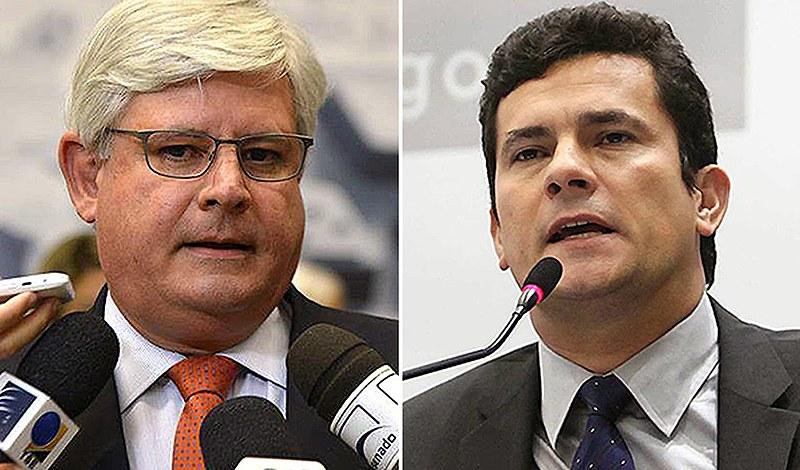 """Moro e Janot """"avançam nos prejuízos provocados ao país e à economia nacional"""""""