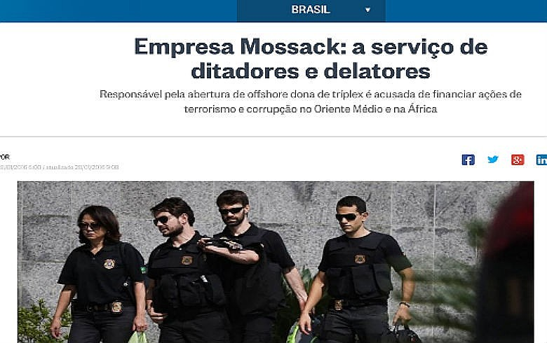Neta e herdeira da Globo está entre clientes da Mossack, que para atingir Lula foi descrita pelos veículos do grupo de atuar 'a serviço de ditadores, delatores e traficantes'