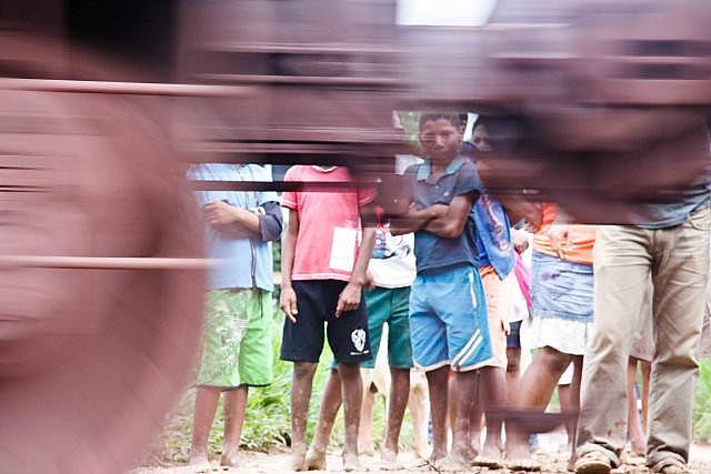 A estrada de ferro Carajá tem 892 quilômetros de extensão e impacta comunidades rurais e territórios indígenas no Pará e Maranhão