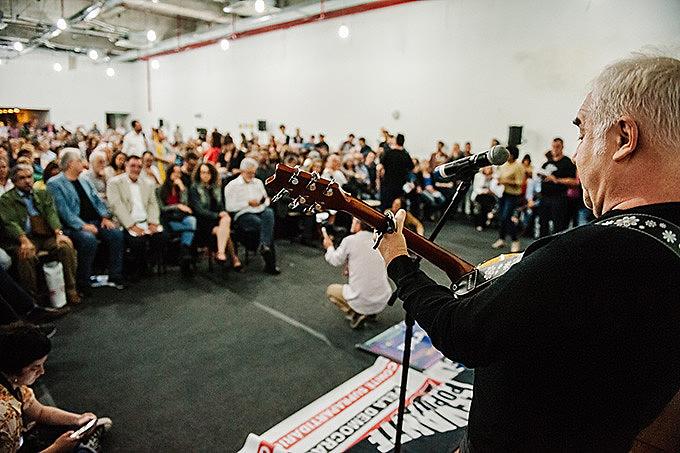 Classe artística esteve representada no lançamento da Frente em Defesa da Soberania no RS