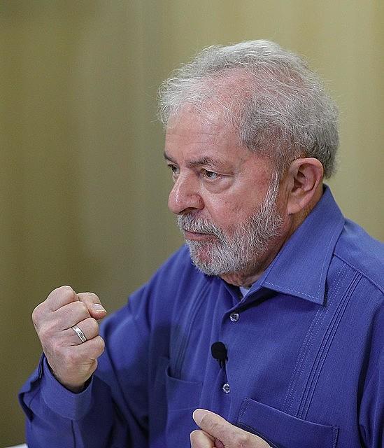 Lula concedeu entrevista exclusiva ao Brasil de Fato na quarta-feira (23)