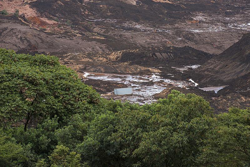 A barragem da Mina do Córrego do Feijão, da Vale, no município de Brumadinho, rompeu na última sexta-feira