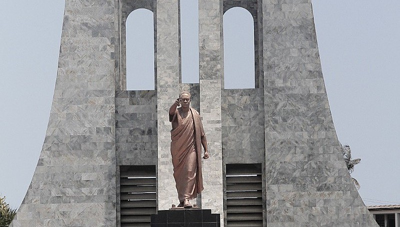 Memorial de Kwame Nkrumah em Acra, capital de Gana